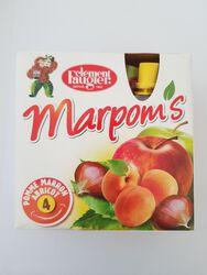 MARPOMS X 4 POMME/ABRICOT