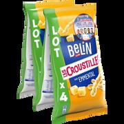 Belin Croustilles À L Emmental Belin, 4 Paquets De 138g