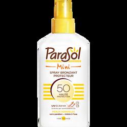 Spray protecteur indice 50 mini PARASOL, flacon de 100ml