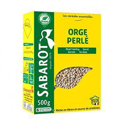 orge perlé 500g SABAROT