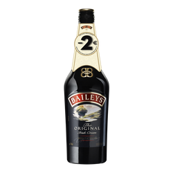 Crème Whisky Original BAILEYS, 17°, 70cl + bri 2,00euros
