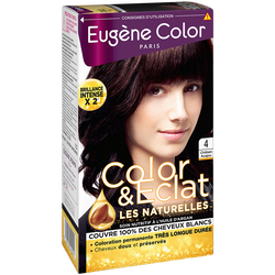 Coloration permanente châtain acajou n°4 EUGÈNE COLOR