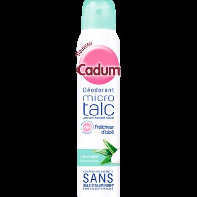 Déodorant pour femme micro talc hydratation CADUM, atomiseur de 200ml