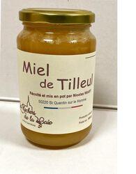 Miel de Tilleul, LES RUCHERS DE LA BAIE,  500G