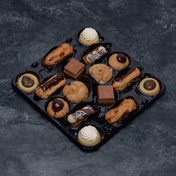 Mini gâteau lunch chocolat décongelé, 16 pièces, 320g