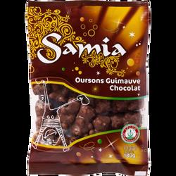 Oursons au chocolat guimauve halal SAMIA 180g