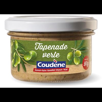 Tapenade d'olives vertes COUDENE, 90g