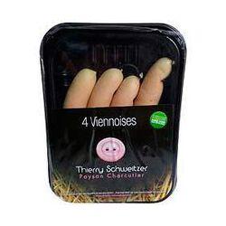 Saucisses viennoises THIERRY SCHWEITZER, 4 pièces, 240g