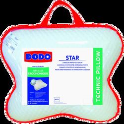 OREILLER ERGONOMIQUE STAR 45X55 CM DODO