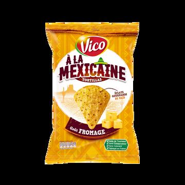 Vico Tortilla À La Mexicaine Goût Fromage Vico, Sachet De 150g