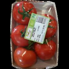 Tomate grappe, segments Les grappes, BIO, France, barquette