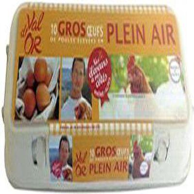 Boîte de 10 Œufs Plein Air - C