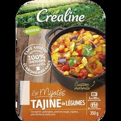 Tajine, CREALINE, barquette 2 x 175g