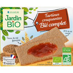 JB TARTINES CRAQ BLÉ COMPLET