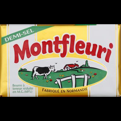 Beurre demi sel 60% de MG MONTFLEURI, 250g