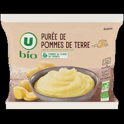 Purée de pommes de terre surgelée U BIO, 450g