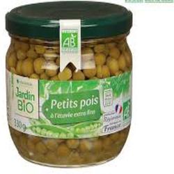 PETITS POIS EXTRA FINS 330g JARDIN BIO