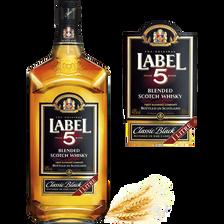 Label 5 Blended Scotch Whisky , 40°, 1l
