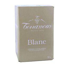 BIB Vin de pays, Cotes Catalanes Blanc -5L TERRASSOUS