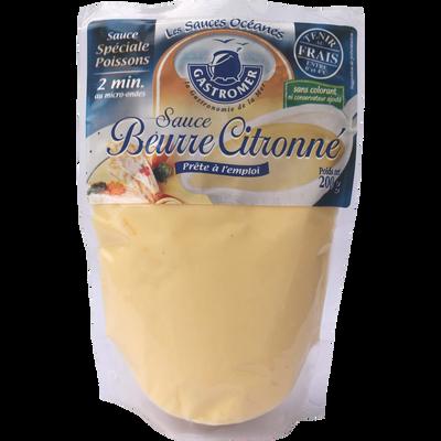 Sauce beurre citronnée, GASTROMER, 200g