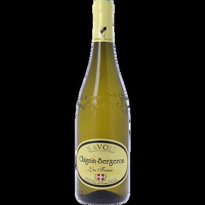 Vin blanc de Savoie Chignin Bergeron Les Tours, 75cl