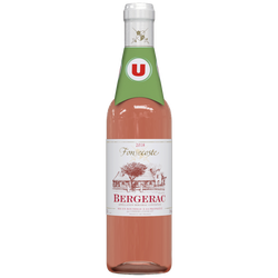 Bergerac AOP rosé Fonsecoste U 75cl