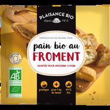 Préparation pour pain froment PLAISANCE BIO, 35g