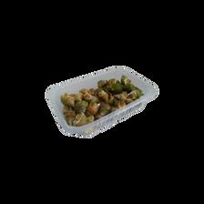 Bulots cuits, Buccinum Undatum, Transformé en France, barquette 1kg