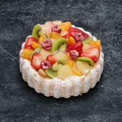 Charlotte fruits assortis décongelé, 1 pièce, 100g