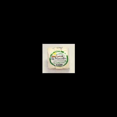 Saint Marcellin au lait thermisé, 25%MG, rouleau x3, 240g
