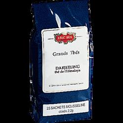 Thé darjeeling mousseline ERIC BUR, 25 sachets de 55g