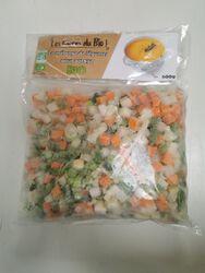 Mélange de légumes 600g, Les Givrés du bio