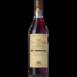 Vin rouge très vieux Pineau des Charentes MOULIN DE LA GRANGE, 18°,  75cl