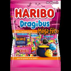Mega fête dragibus Halloween HARIBO, 960g