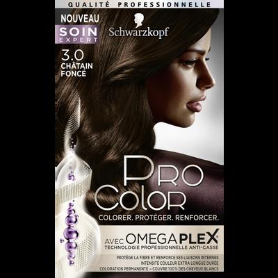 Coloration châtain foncé 3.0 PRO COLOR