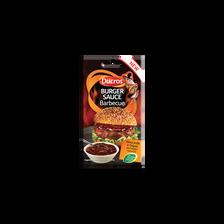 Sauce barbecue pour burgers tomate ail paprika arôme fumée DUCROS, 55g