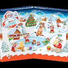 Kinder Calendrier De L'avent Assortiment De Bonbons Au Chocolat , Boitede 127g