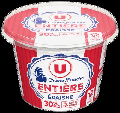 Crème fraîche épaisse 30%mg U, 20cl