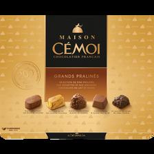 Cémoi Chocolat Grands Pralinés Maison , Boite De 400g