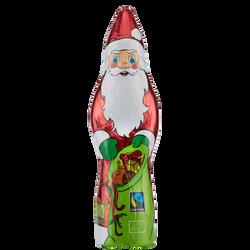 Père Noël lait 33% cacao bio alu RIEGELEIN, 75g
