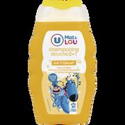 Lou Shampoing Et Douche 2en1 Parfum Jus Tropical U Mat Et Lou, Flacon De 250ml