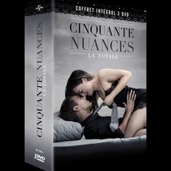 Coffret 3 dvd 50 nuances de grey-l'intégrale