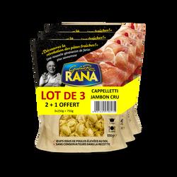 Cappelletti au jambon cru RANA, 2+1 offerte, 750g