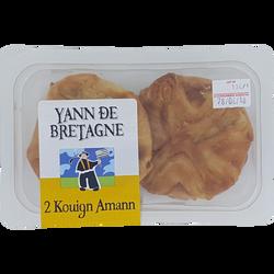 Kouign amann, 2 pièces, 160g