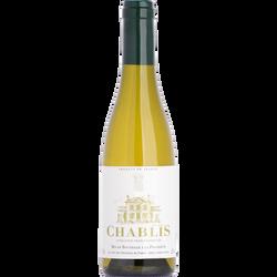 Vin blanc AOP CHABLIS, bouteille de 37,5cl
