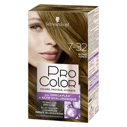 Coloration PRO COLOR blond foncé 7.32