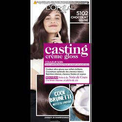 Coloration CASTING Crème Gloss chocolat givre 5102