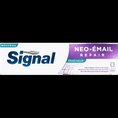 Dentifrice néo email repair fresh SIGNAL, tube de 75ml