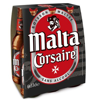 MALTA CORSAIRE 6X33CL