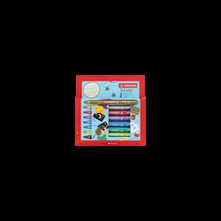 Feutre STABILO, pointe large, 8 unités, coloris assortis